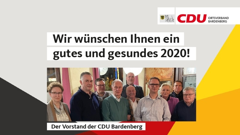 Wir wünschen Ihnen ein gutes und gesundes 2020!