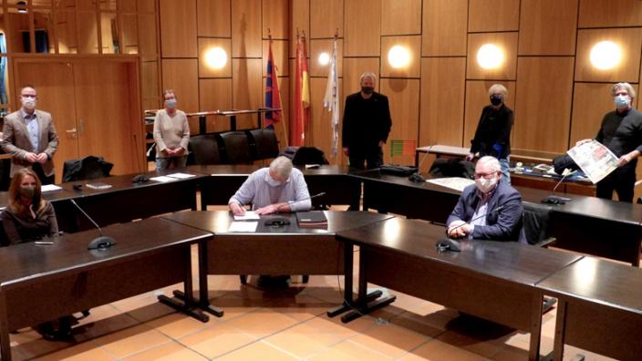 Koalitionsvertrag wurde unterschrieben